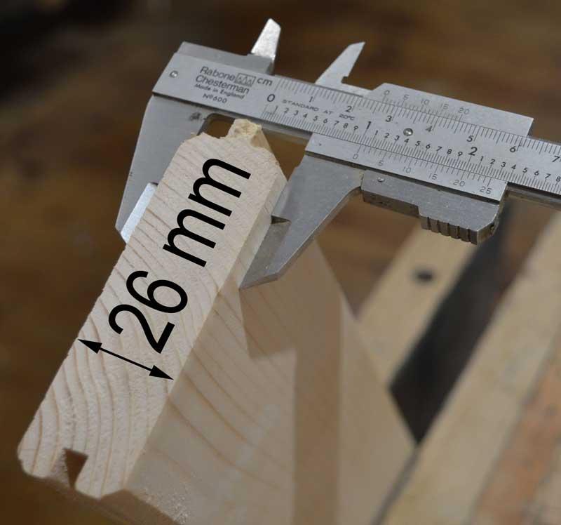 wallybois shutter thickness