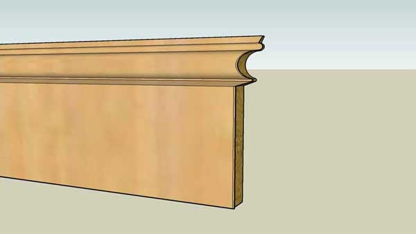 how to scribe your skirting boards, how to cut skirting boards