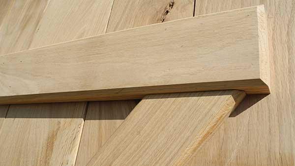 what is ledge and brace? barre et escharpe volets battant