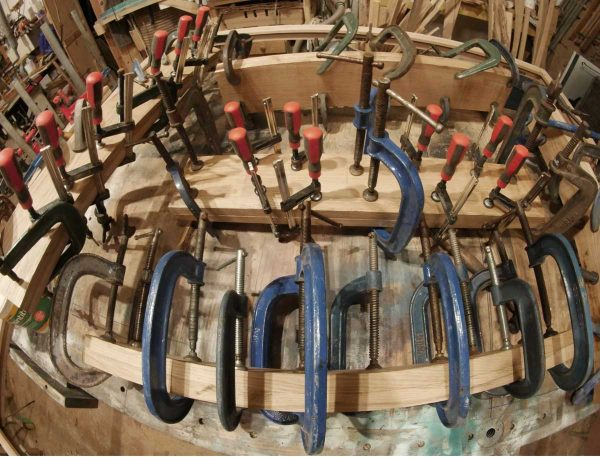 too many clamps for woodworking