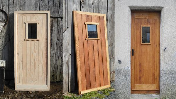 farmhouse door made to measure in france, bespoke doors for french farm houses