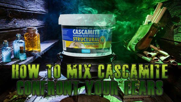 how to mix cascamite powdered resin wood glue