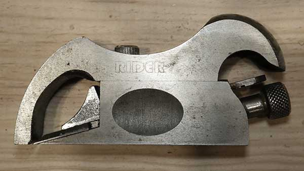 bullnose shoulder chisel plane by axminster rider