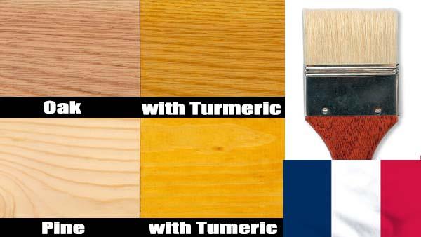 Teintures à bois naturelles