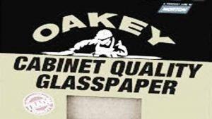 Oakey Glasspaper sandpaper