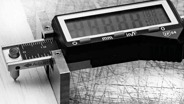 Woodworking Digital Height Gauge Digital Display Depth Ruler Magnet On Buttom