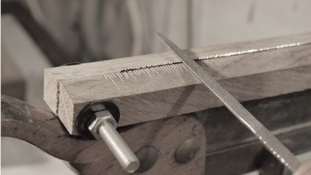 dovetail saw sharpening