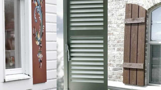 types of shutters. All types of shutter
