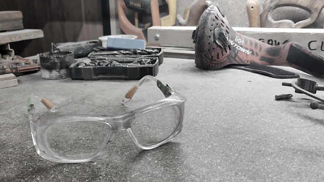 visionet safety glasses