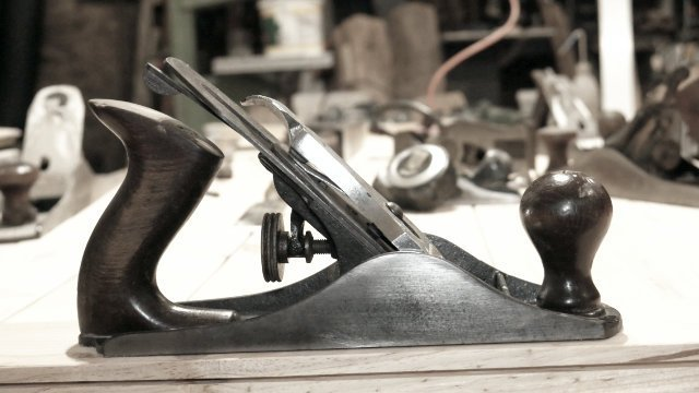 stanley smoothing plane No4