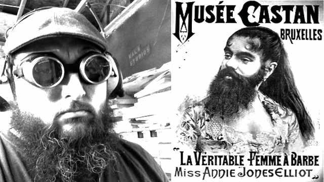 beards, faces masks and coronavirus