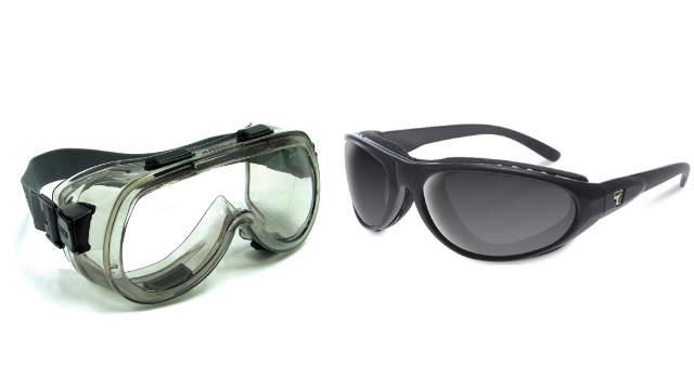 eyecup goggles